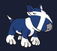 Scottish Bull Terrier One Piece - Short Sleeve