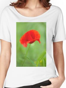 Beautiful photo of poppy Women's Relaxed Fit T-Shirt