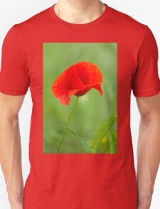 Beautiful photo of poppy Unisex T-Shirt
