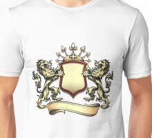 The heraldry shield with lions Unisex T-Shirt