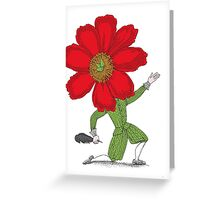The Poet in Love Greeting Card