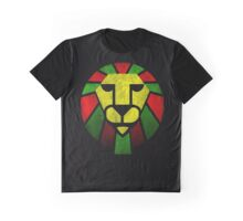 Rasta Lion. Graphic T-Shirt