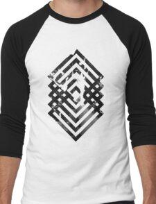 Abstract geometric art Men's Baseball ¾ T-Shirt