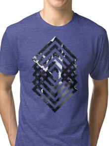 Abstract geometric art Tri-blend T-Shirt