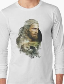 Geralt of Rivia - The Witcher 3 Long Sleeve T-Shirt
