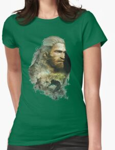 Geralt of Rivia - The Witcher 3 Womens Fitted T-Shirt