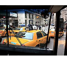 New York Taxi Cabs Photographic Print