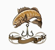 The fish and treble hook Unisex T-Shirt
