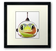 Space Gecko Framed Print