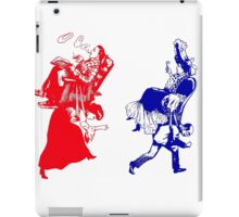 funny victorian marriage iPad Case/Skin
