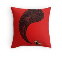 Heart of a Lion Throw Pillow