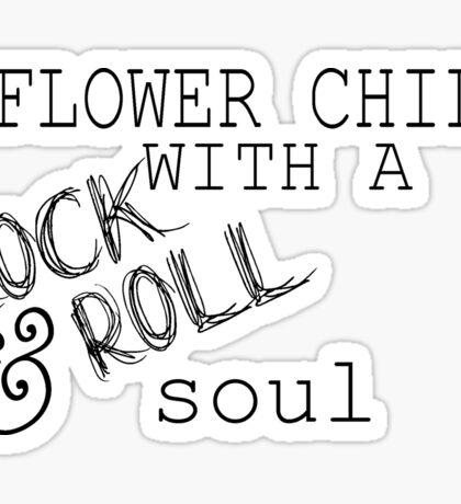 Flower Child Sticker