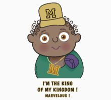 Little King - I'm the king ! Kids Clothes
