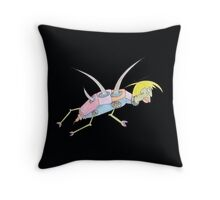 color back glider Throw Pillow