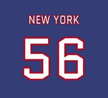 New York (Blue) Football (I) Unisex T-Shirt