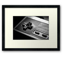 NES Controller Fine Art Photo Framed Print