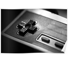 NES Controller Fine Art Photo Poster