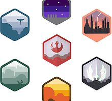 Expanded Original Star Wars Icon Set by TrendSpotter
