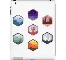 Expanded Original Star Wars Icon Set iPad Case/Skin