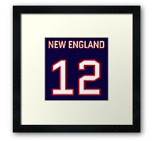 New England Football (I) Framed Print