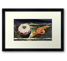 Lunch duo Framed Print