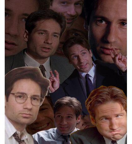 Mulder Collage Sticker