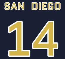 San Diego Football (II) One Piece - Long Sleeve