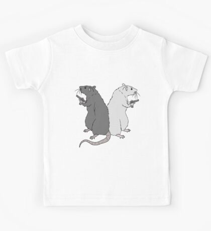 Rats with Gats Kids Tee
