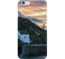 Porthgain Harbour at Sunset iPhone Case/Skin