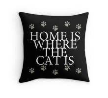 Cat Lover's Throw Pillow