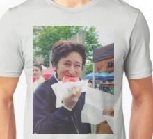 Araki eating a donut Unisex T-Shirt