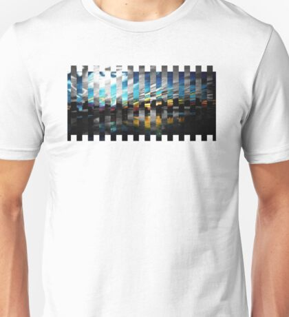 Boston Skyline Remix Unisex T-Shirt
