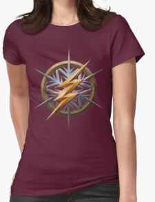 ColdFlash logo Womens Fitted T-Shirt