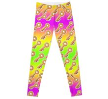 Key Mardi Gras Leggings