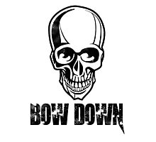 Bow down Photographic Print