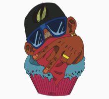 Chocolate Cupcake Kids Tee