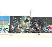 Miami Graffiti Photographic Print