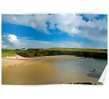 Cable Bay Anglesey Poster