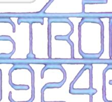 Commercial Towing Vehicle 'The Nostromo' Sticker