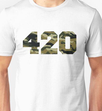Camo 420 Unisex T-Shirt
