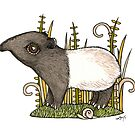 Tiny Tapir by Anita Inverarity