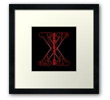 Generation X Framed Print