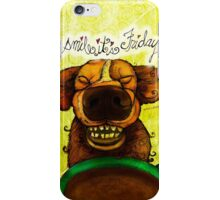 WHAT MY COFFEE SAYS TO ME AUGUST 14, 2015 iPhone Case/Skin