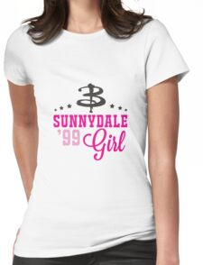 Sunnydale Girl Womens Fitted T-Shirt