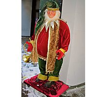 Christmas Elf Photographic Print