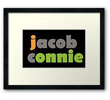 Team Jonnie Framed Print