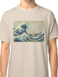 Vintage poster - The Great Wave Off Kanagawa Classic T-Shirt
