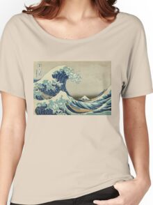 Vintage poster - The Great Wave Off Kanagawa Women's Relaxed Fit T-Shirt