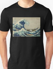 Vintage poster - The Great Wave Off Kanagawa T-Shirt