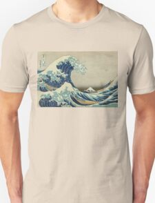 Vintage poster - The Great Wave Off Kanagawa Unisex T-Shirt